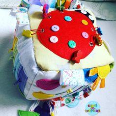 #quietcube #ladybug #rainbow #colors🏳️🌈 #madeinromania #custom #onorder Ladybug, Cube, Rainbow, Book, How To Make, Instagram, Lady Bug, Rainbows, Ladybugs