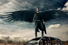Loving the wings #Dominion we need more. More wings. More stories. @SyfyTV pls #RenewDominion