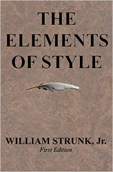 Book 8 of my #52books challenge: The Elements of Style by William Stunk #bookaweek #books