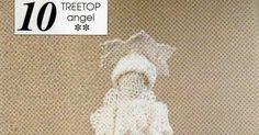 Stricken - Meeting: Häkeln Weihnachtsschmuck - Crochet Treetop Engel
