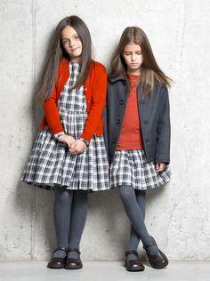 Look invernal para niñas #kids #girls #fashion