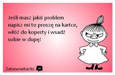 Stylowa kolekcja inspiracji z kategorii Humor Polish Memes, Funny Thoughts, Little My, Man Humor, Motto, Quotations, Haha, Songs, Motivation