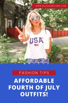 Today I am rounding up some of my most popular Fourth of July outfits I've shared on Instagram stories and linking all the pieces below for you to shop for your summer style! #summerfashion #summerstyle #fashionblogger #fashionblog #womensfashion
