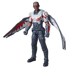 Super Hero Falcon Electronic 12Inch Hero Series Action Figures Toys *** Want additional info? Click on the image.