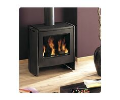 Poele a bois Scope anthracite 7kw Home And Deco, Sweet Home, Stove, Home Appliances, Design, Woodwind Instrument, Home, House Appliances, House Beautiful