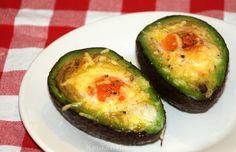 Met ei gevulde avocado - Keuken♥Liefde