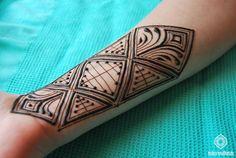 Geometrical henna patterns | Toko Mehndi                              …