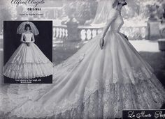 1963 Modern Bride, Alfred Angelo. Millie Motts, via Flickr