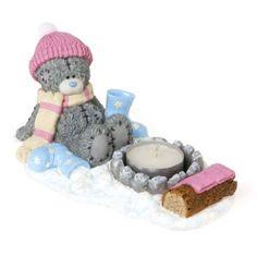 Me to you Tatty Ted Light up the Night tea light figurine WINTER CHRISTMAS £25 | eBay