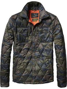 b7377366e9ee Nylon Shirt Jacket   Jackets   Men s Clothing at Scotch   Soda Hemdjacke,  Pullover Strickjacke