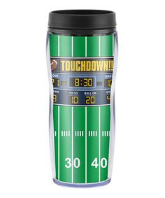Look what I found on #zulily! Scoreboard Tailgate Double-Walled Travel Tumbler by Fine Life Products #zulilyfinds