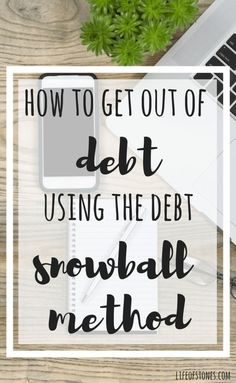 This debt snowball system helped us get out of the vicious cycle of making minimum payments each month and making no progress.  This was a total game changer for us!!