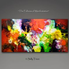 The Fullness of Manifestation, giclee prints from my original painting by Sally Trace