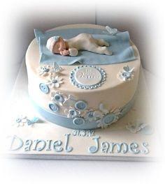Baby boy christening cake                                                                                                                                                                                 More