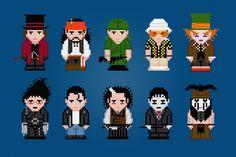 Johnny Depp personaj