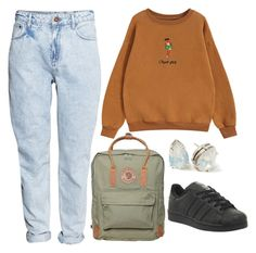"""""""Untitled #207"""" by tater-titties on Polyvore featuring H&M, Chicnova Fashion, Fjällräven and adidas"""