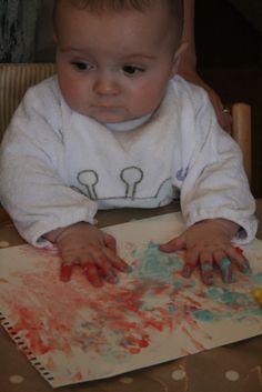 The Imagination Tree: Homemade Edible Finger Paint