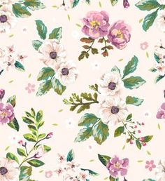 Papel de Parede Floral 1668