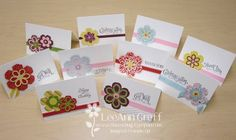 Blossom Builders - 10 Quick cards! by flowerbugnd1 - Cards and Paper Crafts at Splitcoaststampers