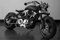 Confederate F131 Hellcat Combat Motorbike | An Unsaneproject Creation