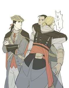 [AC3/AC4 BF] The Kenways>>>>Grandpa Edwards so happy his grandchild didn't become a templar.