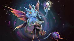 Dota 2 - Puck by Zaphk Defense Of The Ancients, Dota 2 Wallpaper, Game Art, Video Game, Character Design, Workshop, Dragon, Deviantart, Drawings