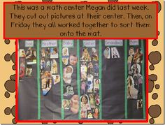 Have students cut out pictures of different family members and then sort them into a large graph.