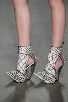 Clark shoe design award, collection 2014SS. Mercedes Benz fashion week 2014.