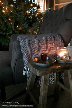 Sobere kerst Styling & Living www.stylingandlivingshop.nl