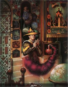 DON MAITZ - The Genie - print by 1staab