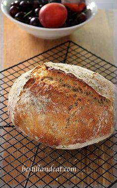 18 hour no knead bread