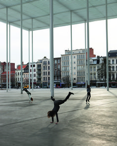 Theaterplein en omgeving | VAi - Vlaams Architectuurinstituut