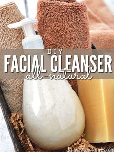 Homemade Face Wash Made from Natural Goat Milk Soap A simple tutorial to make your own homemade facial cleanser using just two ingredients. A simple all-natural & frugal option costing just for 8 ounces! Homemade Face Wash, Limpieza Natural, Do It Yourself Fashion, Goat Milk Soap, Homemade Beauty Products, Natural Products, Tips Belleza, Belleza Natural, Beauty Recipe
