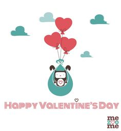 "Happy Valentine's Day, @nellealinday and @kaaaaaatm! :""""> ♥♥♥"