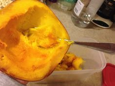 How to Roast a Pumpkin for Puree via- Culinary Concoctions by Peabody