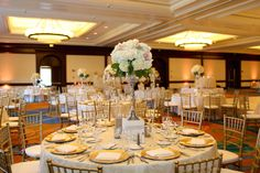 Classic Ballroom Wedding Reception