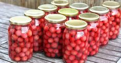 MojeTworyPrzetwory: Compote of cherries in winter Canning, Vegetables, Food, Cherries, Winter, Summer, Home Canning, Maraschino Cherries, Winter Time