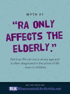 RA myths and misconceptions What Is Rheumatoid Arthritis, Types Of Arthritis, Chronic Illness, Chronic Pain, Fibromyalgia, Ra Disease, Stress Relief Exercises, Invisible Illness