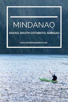 Mindanao Philippines   Samal Island Davao   Lake Holon   T'boli community   Enchanted River