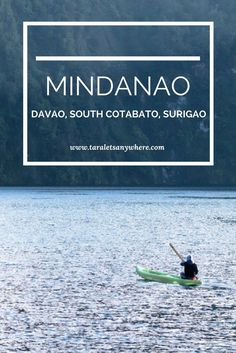 Featuring Lake Holon in South Cotabato, Philippines | Exploring Mindanao in 5 days including Davao (Samal Island), South Cotabato (Lake Holon & T'boli community) and Surigao (Enchanted River).