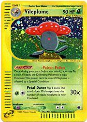 Pokemon Expedition Card 31 - Vileplume Holofoil $7.49-$9.98