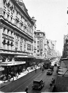 Her Majesty's Theatre,Pitt Street,Sydney in 1929.A♥W
