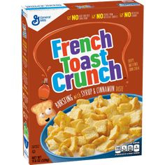 General Mills Breakfast & Cereal Bars Home & Garden French Toast Crunch, Cinnamon Toast Crunch, General Mills, Vitamin B12, Gluten Free Cereal, Whole Grain Cereals, Crunch Cereal, Waffle Cones, Breakfast Cereal