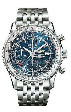 #Breitling Navitimer World Steel Blue Mens Watch A2432212-C6-415 #fashion…