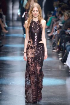 Roberto Cavalli. See all the best looks from Milan fashion week.