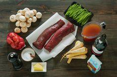 Av alle kjøttslag man får tak i er nok reinsdyrkjøtt det med aller mest smak, og i tillegg er det garantert mørt! Sausage, Dairy, Cheese, Meat, Sausages, Hot Dog, Chinese Sausage