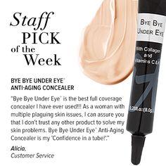 """Bye Bye Under Eye is """"confidence in a tube!"""""""