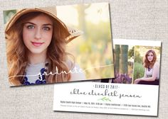 Graduation Announcement Graduation Invitation by CardsEtcetera