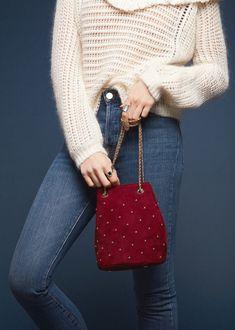 Sézane - Hope Bag // Women's Handbags, Bucket Bag, Purse