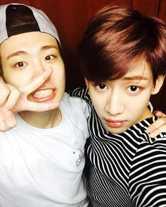Youngjae and Bambam #bam2instagram